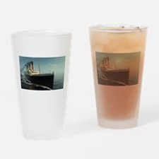 Funny Titanic Drinking Glass