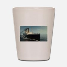 Cool Titanic Shot Glass