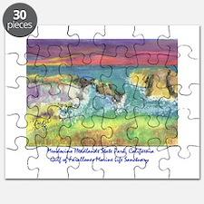 Mendocino Headlands State Park, California Puzzle