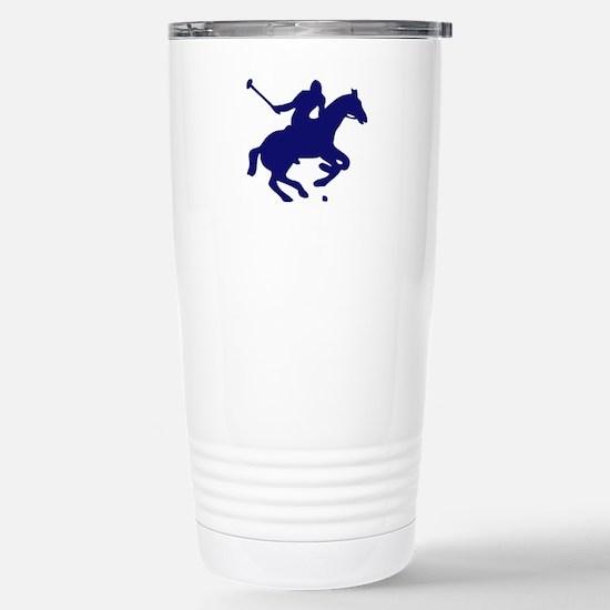 POLO HORSE Stainless Steel Travel Mug