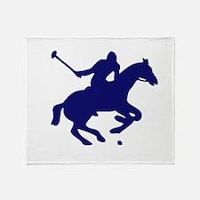 POLO HORSE Throw Blanket