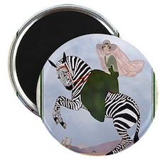 Fashion Zebra Fantasy 9 SEPT Magnets
