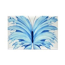 Blue Butterfly Magnets