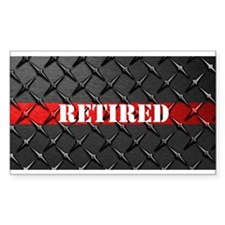 Retired Fire Fighter Decal