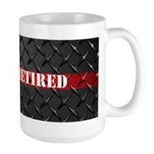 Retired Fire Fighter Mugs