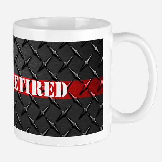 Retired Fire Fighter Mugs