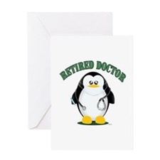 Retired Doctor Male Greeting Cards