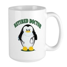 Retired Doctor Male Mugs
