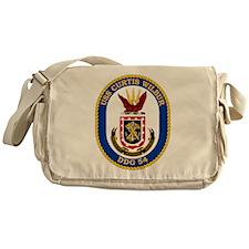 USS Curtis Wilbur DDG-54 Messenger Bag