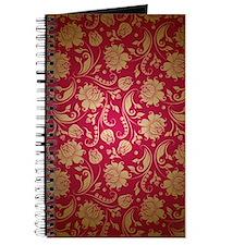 Cute Maroon Journal