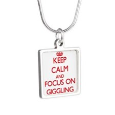 Keep Calm and focus on Giggling Necklaces