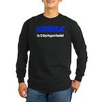 Sledaholic Long Sleeve Dark T-Shirt