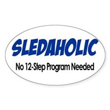 Sledaholic Decal