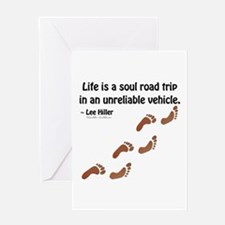 Soul Road Trip Greeting Cards