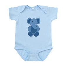Blue Elephant Body Suit
