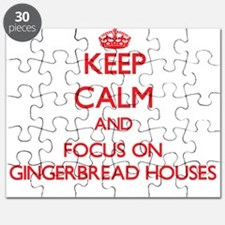Cute Gingerbread Puzzle