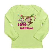 Whats Not to Love Perso Long Sleeve Infant T-Shirt