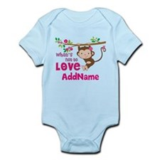 Whats Not to Love Personalized Infant Bodysuit
