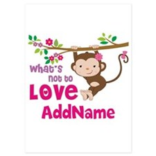 Whats Not to Love Personalized 5x7 Flat Cards
