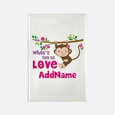 Whats Not to Love Personalized Rectangle Magnet