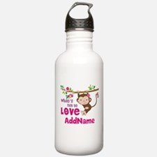 Whats Not to Love Pers Sports Water Bottle
