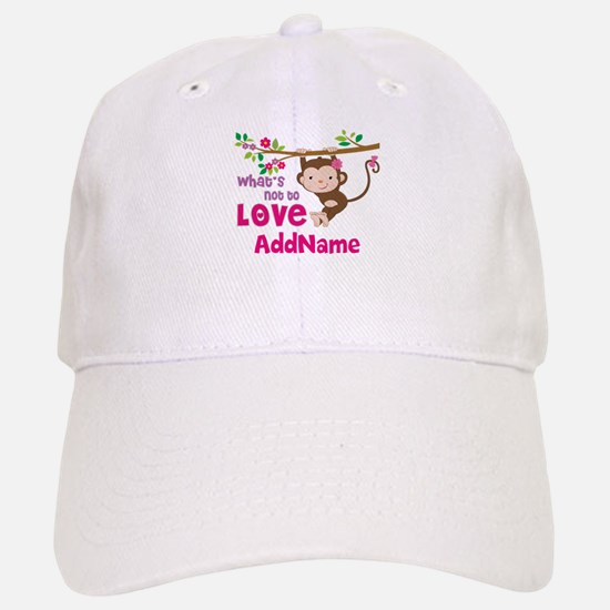 Whats Not to Love Personalized Baseball Baseball Cap