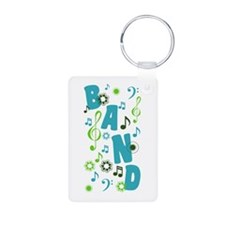 Cute Band Aluminum Photo Keychain