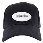 Cancervivor Baseball Hat Black Cap