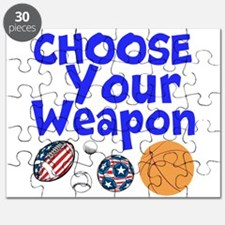 Choose Your Weapon Puzzle
