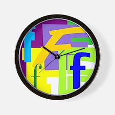 Initial Design (F) Wall Clock