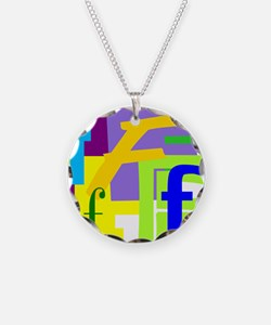 Initial Design (F) Necklace