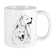Samoyed Dogs Mugs
