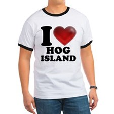 I Heart Hog Island T-Shirt