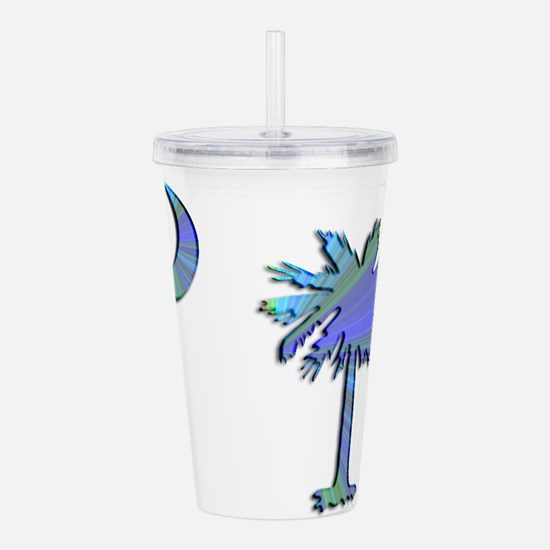 C and T 2 Acrylic Double-wall Tumbler
