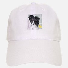 Bi Black Sheltie Bath Baseball Baseball Cap