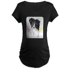 Bi Black Sheltie Bath T-Shirt