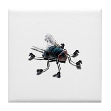 Fly with Skates Tile Coaster