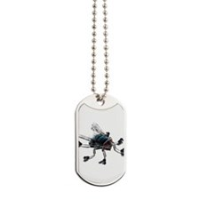 Fly with Skates Dog Tags