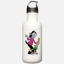 Wolf and Hare Dancing Water Bottle