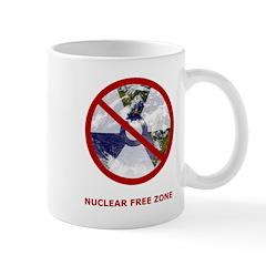 Nuclear Free Zone Mug