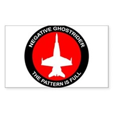 Negative Ghostrider The Patte Decal