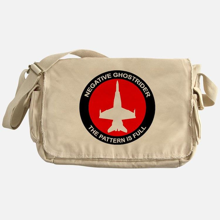 ghost8.png Messenger Bag