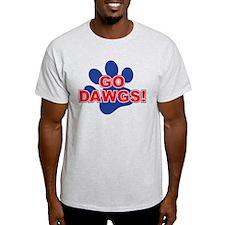 Go Dawgs Paw Print T-Shirt