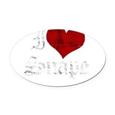 snape1.png Oval Car Magnet