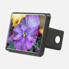 Lavender Pansy Hitch Cover