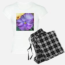 Lavender Pansy Pajamas