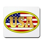 Patriotic USA Mousepad