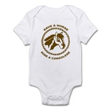 Ride A Congolese Infant Bodysuit