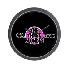 The Three Blondes Wall Clock
