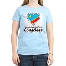 Happily Married Congolese T-Shirt